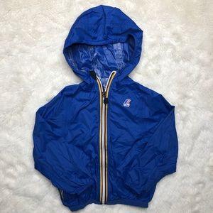 K-Way Blue Windbreaker Jacket Size 3T